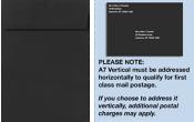 A7 Vertical Invitation Envelopes