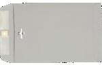 9 x 12 Clasp Envelopes Gray Kraft