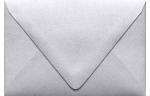A1 Contour Flap Envelopes Silver Metallic
