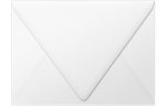 A7 Contour Flap Envelopes White - 100% Recycled