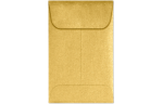 #1 Coin Envelopes Gold Metallic