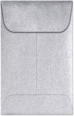#1 Coin Envelopes (2-1/4 x 3-1/2) Silver Metallic