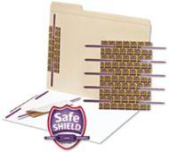 Self-Adhesive Paper Fasteners - 50 Pack