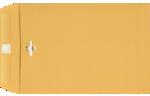 9 x 12 Clasp Envelopes 28lb. Brown Kraft