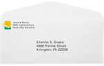 #10 Regular Envelopes 24lb. Bright White