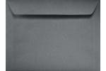 Sterling Gray Linen 9x12 Booklet Envelopes