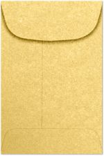 #4 Coin Envelopes (3 x 4-1/2) Gold Metallic