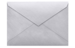 5 1/2 BAR Envelopes Silver Metallic