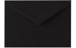 5 1/2 BAR Envelopes Black Linen
