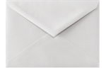 5 1/2 BAR Envelopes White Linen