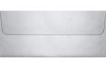 #10 Square Flap Envelopes Silver Metallic