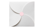 1.625 Circle Labels, 24 Per Sheet Pastel Pink