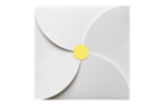 1.625 Circle Labels, 24 Per Sheet Pastel Yellow