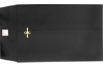 6 x 9 Clasp Envelopes Midnight Black