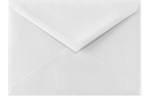 5 BAR Envelopes 70lb. Bright White