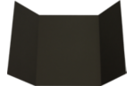 A7 Gatefold Invitation Black Linen