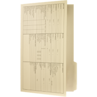 Printed Legal Size File Folder