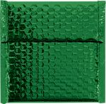 7 x 6 3/4 Glamour Bubble Mailers Green