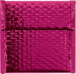 7 x 6 3/4 Glamour Bubble Mailers Pink