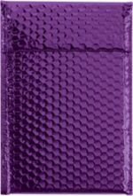 7 1/2 x 11 Glamour Bubble Mailers Purple
