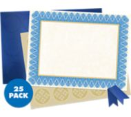 8 1/2 x 11 Customizable Award Certificates Kit