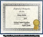 8 1/2 x 11 Certificate Board