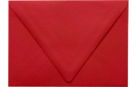 A7 Contour Flap Envelopes Ruby Red