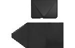 A7 Pocket Invitations Midnight Black
