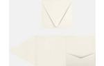 6 x 6 Pocket Invitations Quartz Metallic