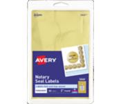 "2"" Printable Gold Foil Seals - Pack of 44"