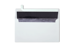 Photo Greeting Invitation Envelopes White w/Silver LUX Lining