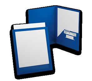 9 x 12 Poly Folders | Folders.com