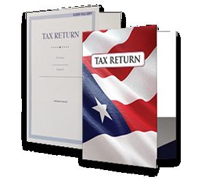 9 x12 Presentation Tax Folders | Folders.com