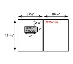 Report Covers - Two Piece w/ Window ( 8 3/4 x 11 1/4)   Folders.com