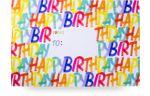 Mailing Box Large  Rainbow Birthday