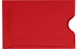 Credit Card Sleeve Envelopes Ruby Red