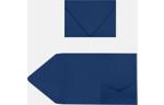 A7 Pocket Invitations Navy