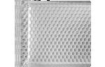 6 X 6 1/2 - LUX Matte Metallic Bubble Mailer Silver