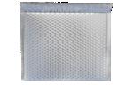 12 X 17 - LUX Matte Metallic Bubble Mailers Silver