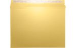 9 1/2 x 12 1/2 Paperboard Mailers Gold Metallic