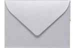 #17 Mini Envelopes Silver Metallic