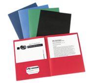 9 x 12 Presentation Folders - Assorted Pack of 25