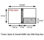 Paper Binder - 3 Ring w/ One Pocket