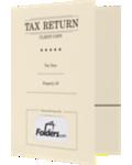 9 x 12 Presentation Tax Folders - Standard Two Pocket w/ Front Card Slit