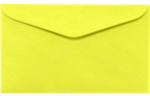 #6 1/4 Regular Envelopes Electric Yellow