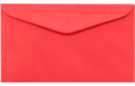 #6 1/4 Regular Envelopes Electric Cherry