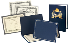 Customized Certificate Holders