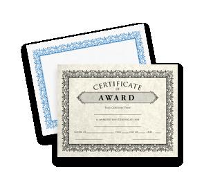 Certificates | Envelopes.com