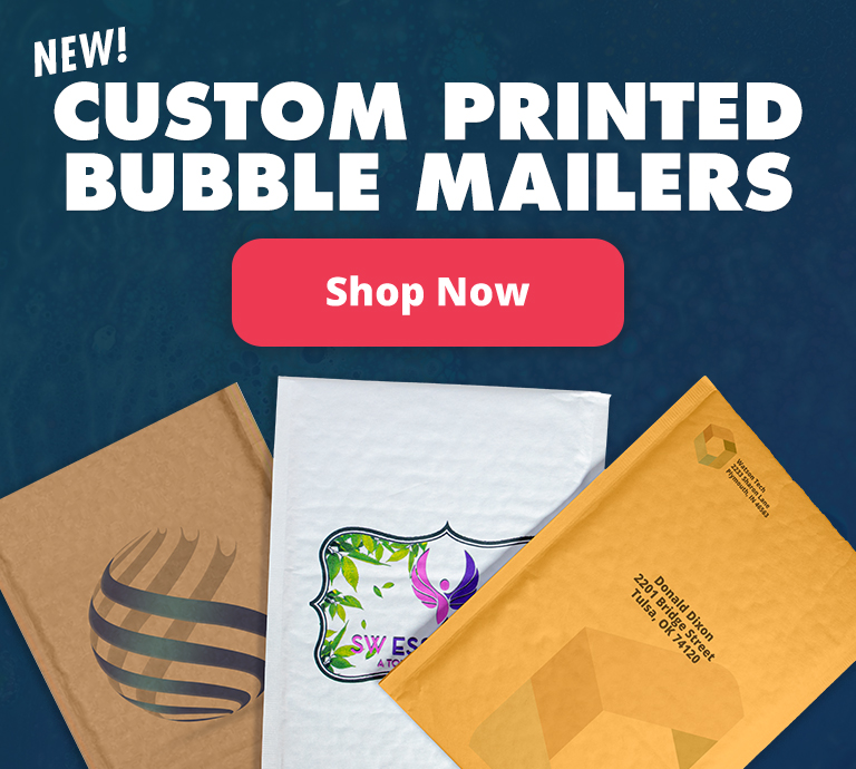 Custom Printed Bubble Mailers | Envelopes.com