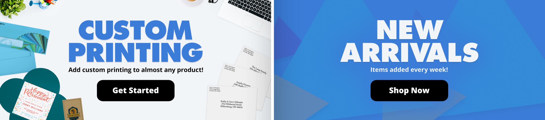 Custom Printing | New Arrivals